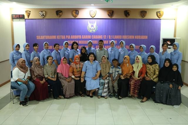 PIA AG Lanud Rsn Silaturahmi dengan Warakawuri dan Anak Yatim