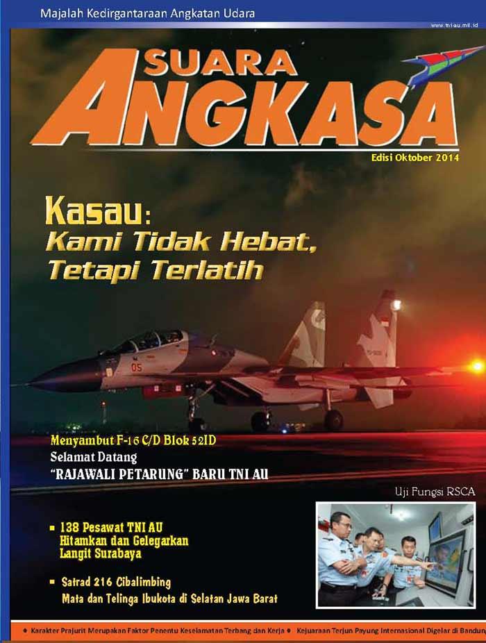 Suara Angkasa Edisi Oktober 2014