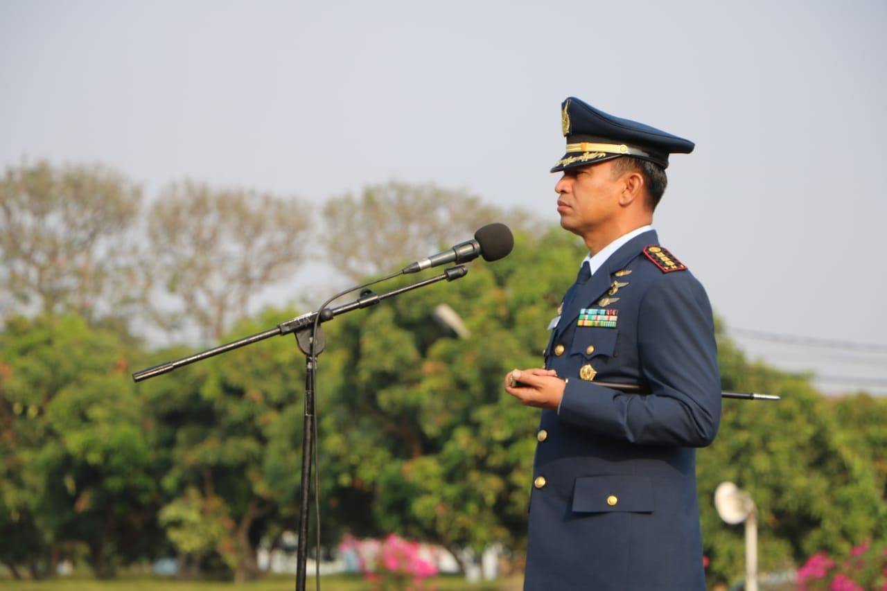 Danlanud Adi Soemarmo Pimpin Upacara Hari Kesaktian Pancasila