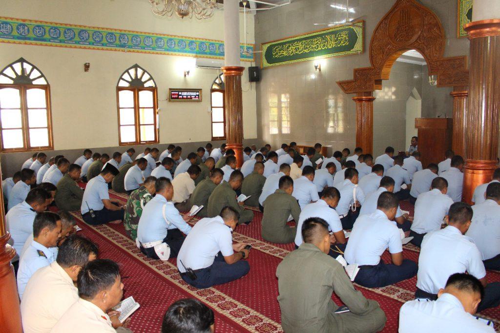 Lanud Suryadarma Gelar Doa Bersama Jelang PuncakHUT TNI Ke-73