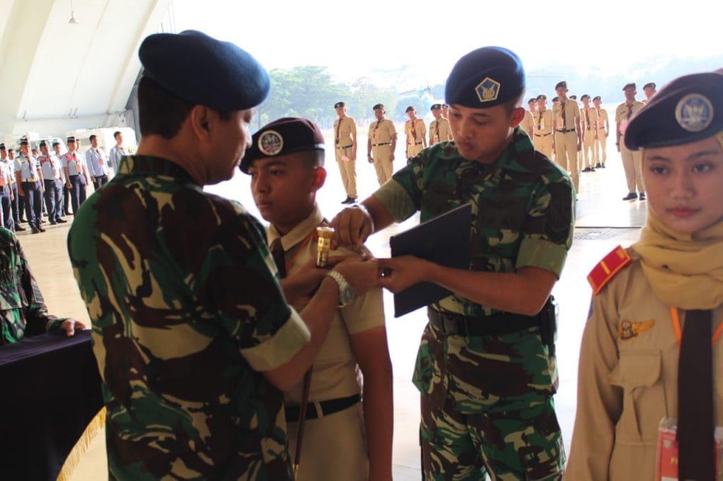 Komandan Lanud Halim Perdanakusuma Buka LDKPD SMK Angkasa