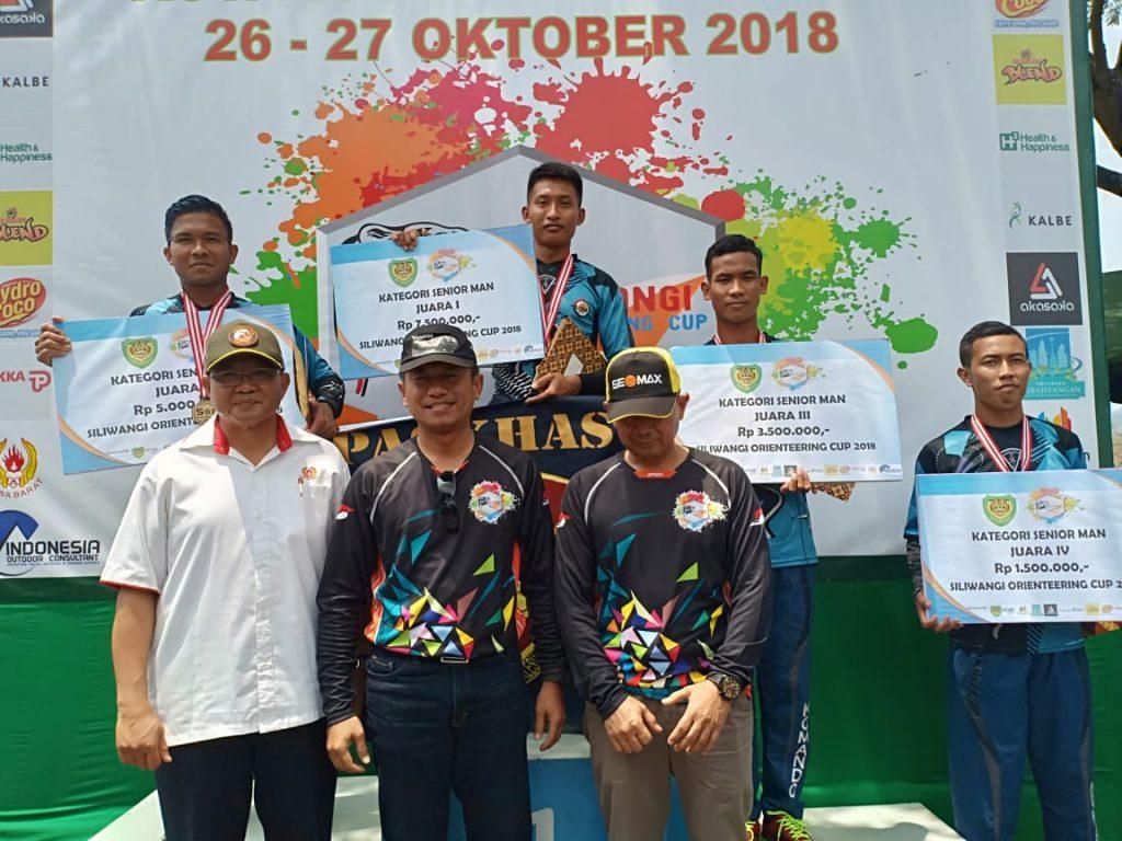 Tim Korpaskhas Sabet Juara Siliwangi Orienteering Cup
