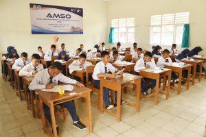"""Yasarini Cabang Lanud Pangeran M. Bun Yamin Menyelenggarakan """"Angkasa Mathematic and Science Olympiad (AMSO)"""" Tahun 2018."""