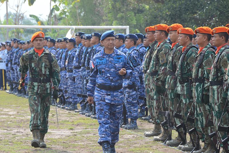 Danlanud Adisutjipto Pimpin Upacara HUT ke-71 Korpaskhas di Yogyakarta