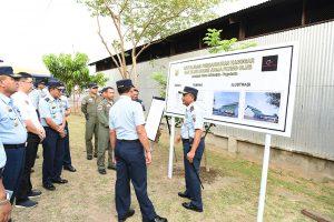 Kasau Resmikan Pembangunan Revitalisasi Hanggar FASI dan Club House JFC
