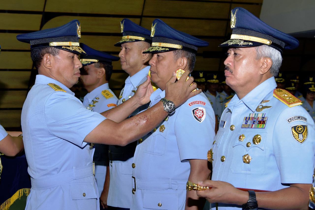 Marsma TNI Henri Alfiandi Jabat Pangkoopsau II