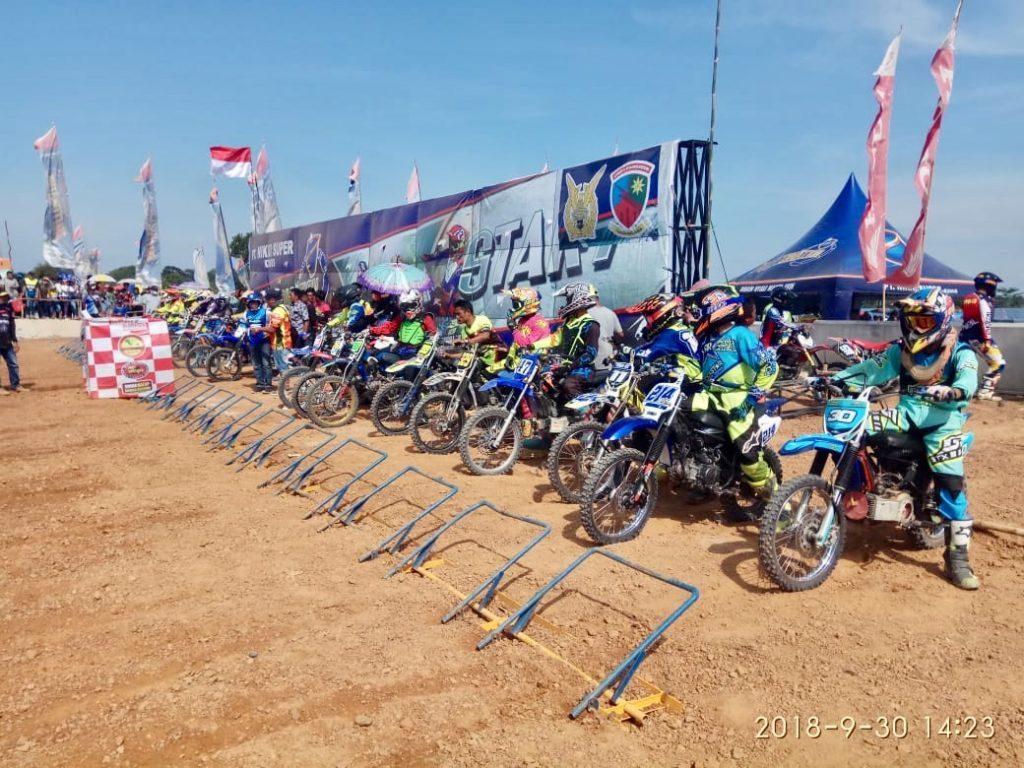 Lanud H. AS Hanandjoeddin Gelar Grasstrack 2018 Open Serie 2 Dalam Rangka HUT ke-73 TNI