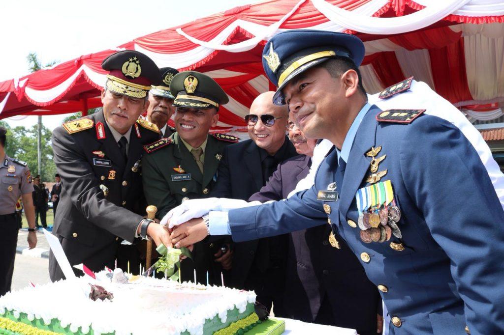 Upacara Peringati HUT TNI ke 73, DanLanud HAS Hanandjoedin : Percaturan Politik Global Membawa Ketidakpastian dan Kekhawatiran