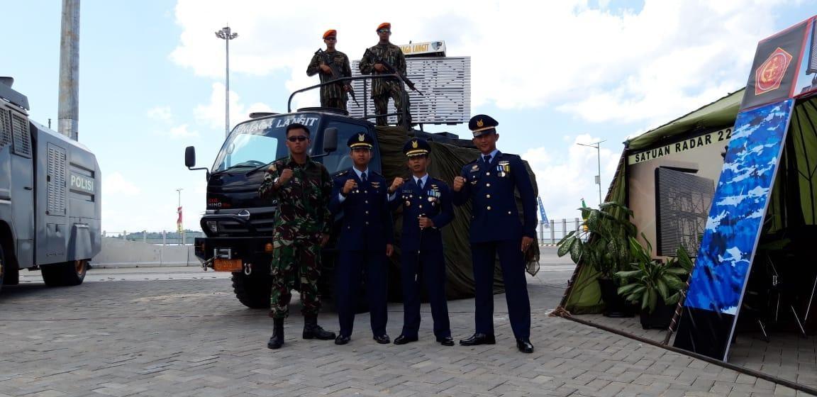 """Pameran Alutsista Satuan Radar 225 Dalam Rangka Hut Tni Ke 73 """"Profesionalisme TNI Untuk Rakyat"""""""