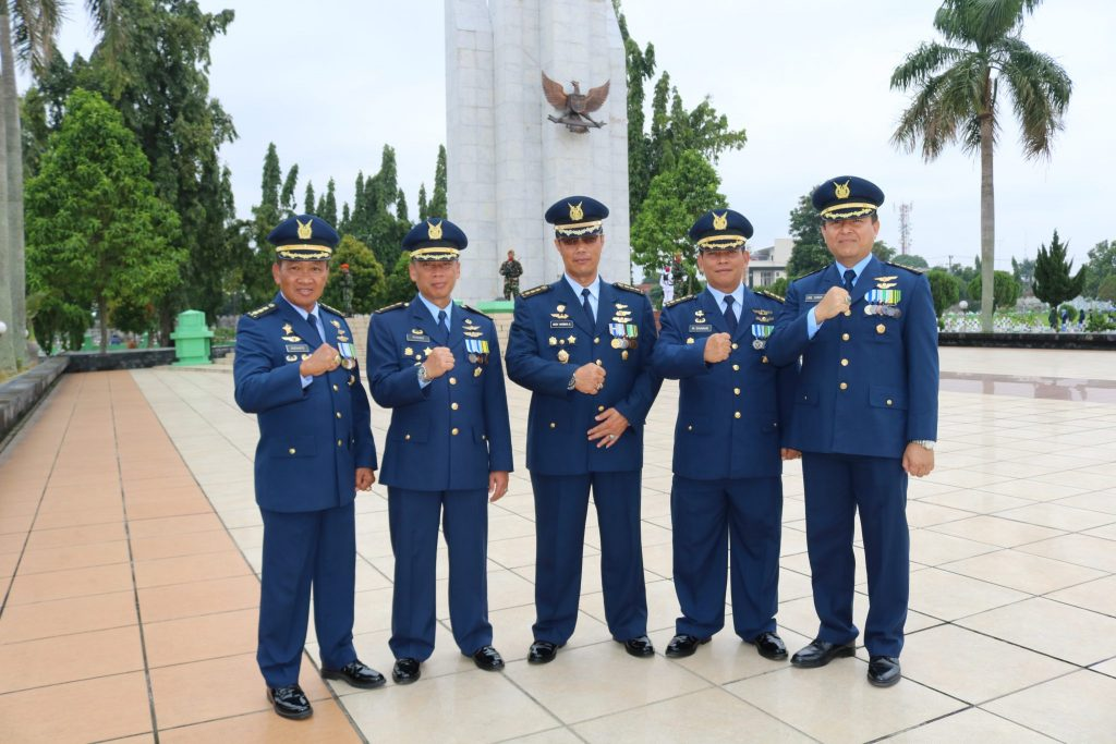 Kosekhanudnas III Ikut Serta Ziarah Nasional di TMP Bukit Barisan
