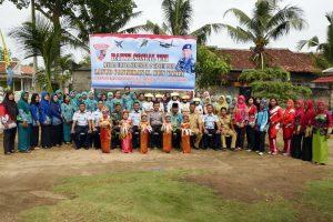 Danlanud Pangeran M. Bun Yamin Meresmikan Kegiatan Bakti Sosial Semester 2 Tahun 2018.