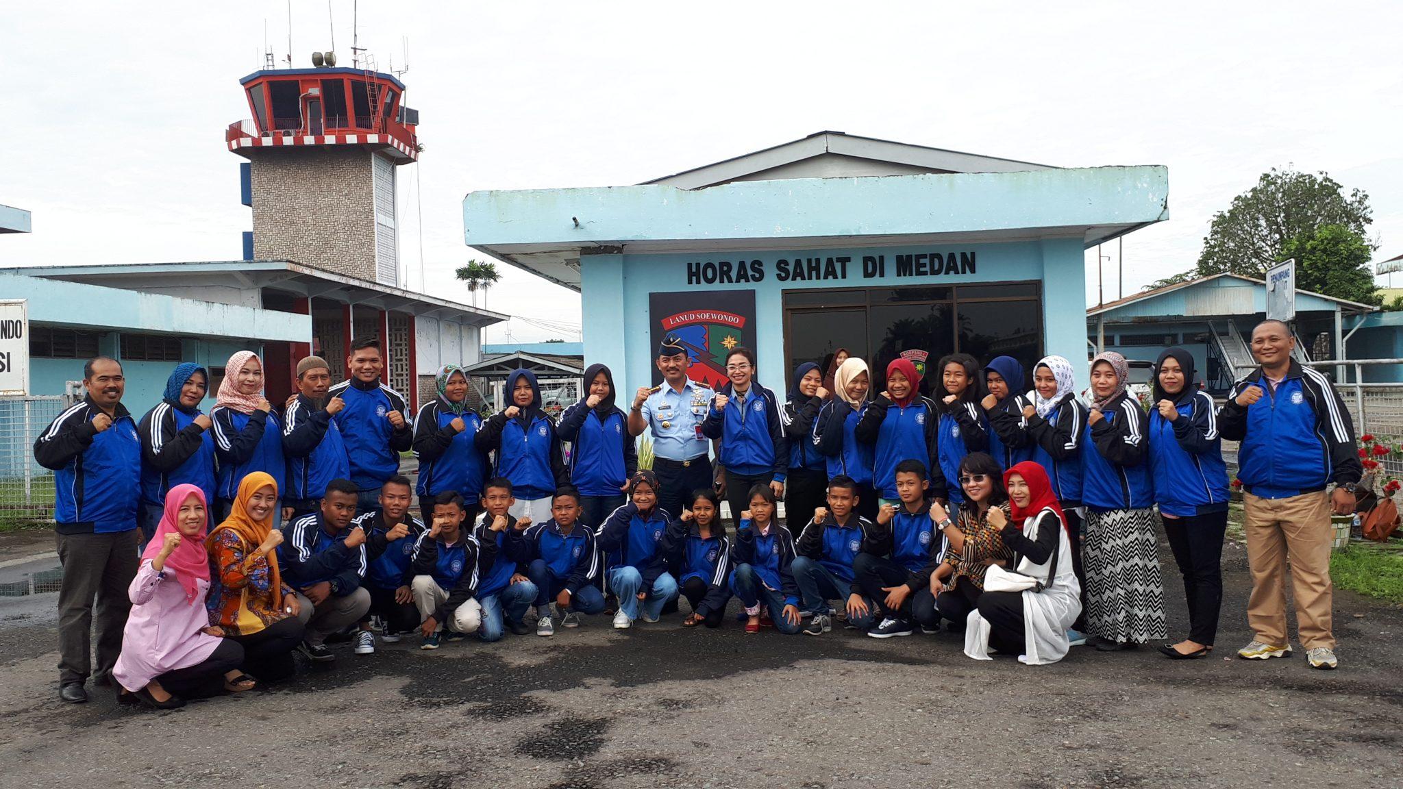Danlanud Soewondo Beri Pembekalan kepada Peserta AMSO 2018