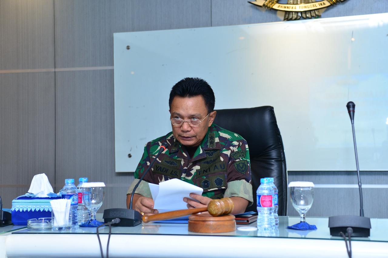Rakorwas Itjen TNI AU 2018, Irjenau: Inspektorat sebagai Pengawas Internal Organisasi Harus Berpedoman pada Koridor Hukum
