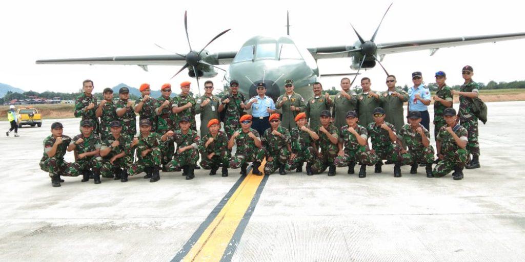 Dukung Porprov Babel ke V, Danlanud H. AS Hanandjoeddin : TNI AU Kerahkan 12 Penerjun Korpaskhasau pada Upacara Pembukaan.
