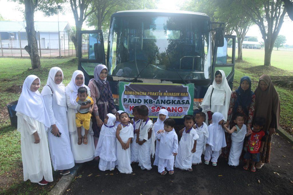 Manasik Haji Penuhi Base Ops Lanud Maimun Saleh