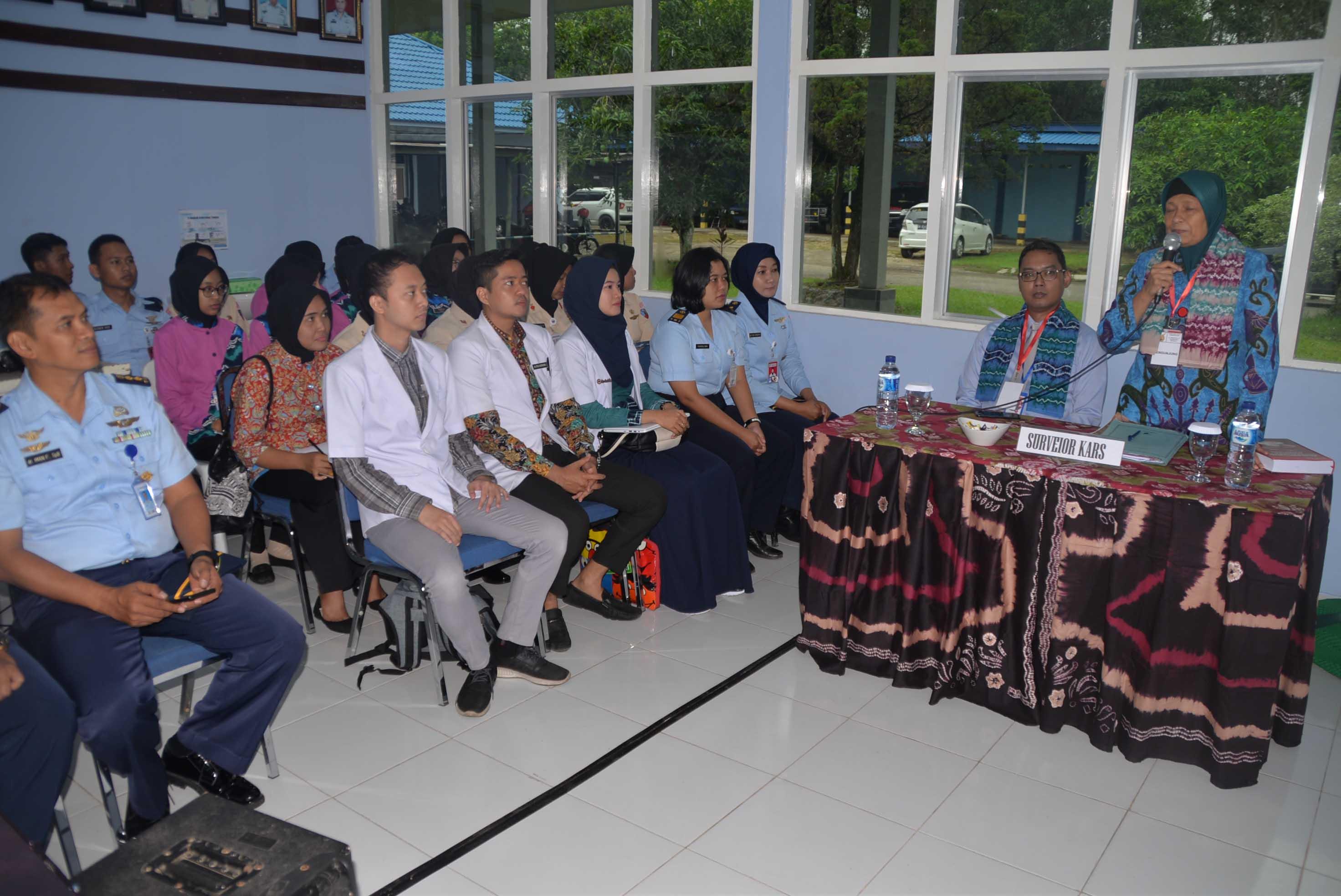 Proses Akreditasi Rumah Sakit Tingkat IV Lanud Sjamsudin Noor Menuju Rumah Sakit Tingkat III