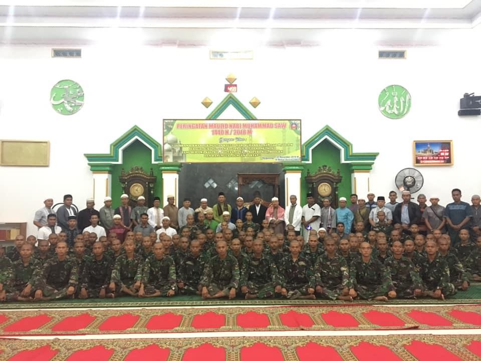 Lanud Silas Papare Laksanakan Safari Subuh Bersama di Masjid Nurul Iman