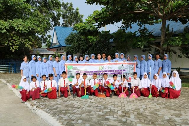 Gerakan Sekolah Angkasa Cinta Lingkungan di Lanud Rsn