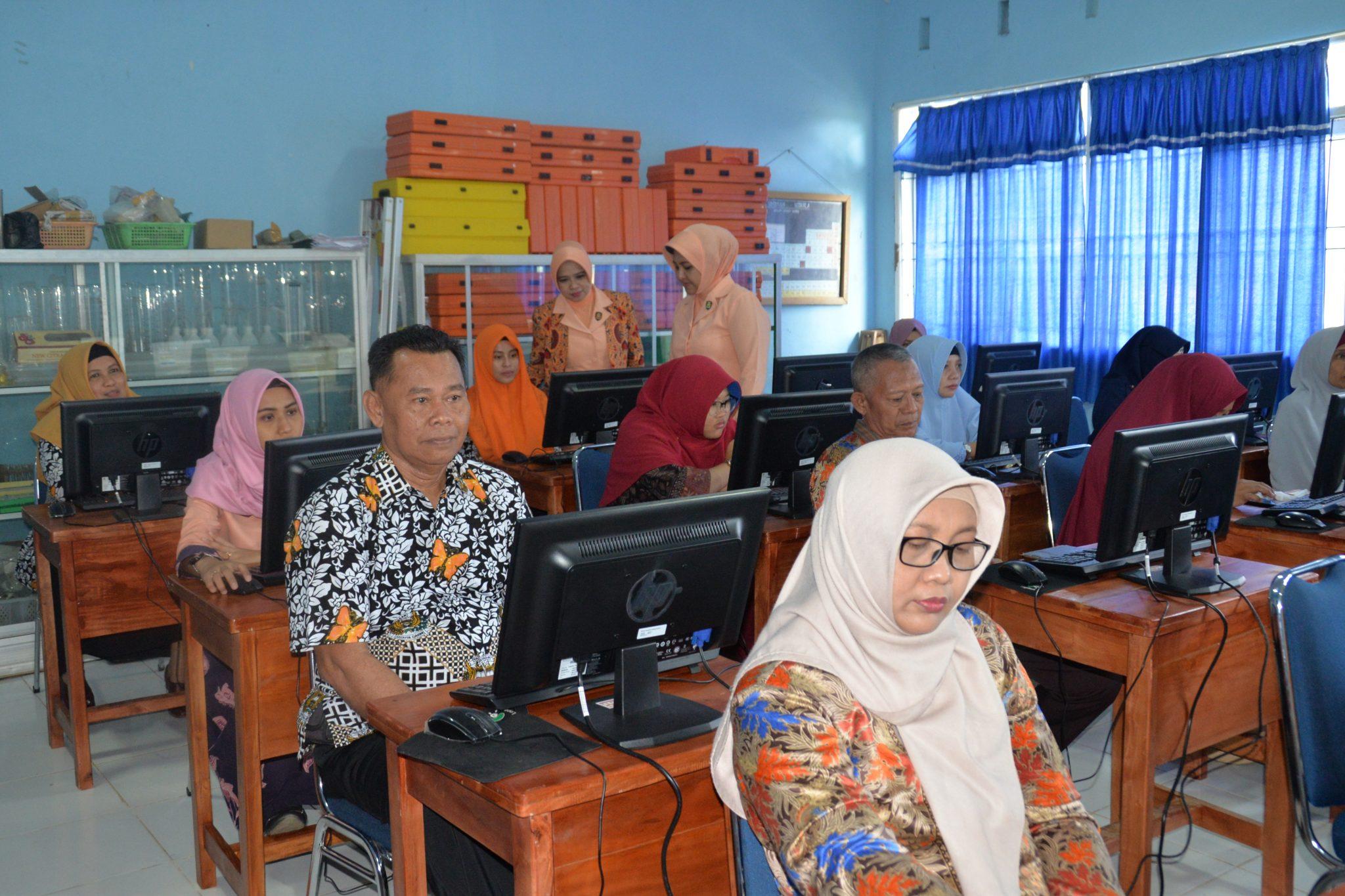 Ujian Kompetensi Guru Sekolah Angkasa Lanud Sultan Hasanuddin