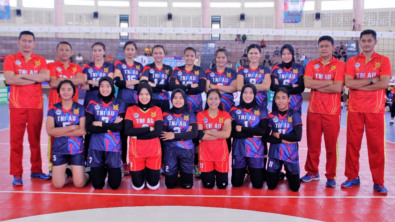 Akhirnya Tim Putra & Putri Bola Voli TNI AU Lolos ke Semifinal