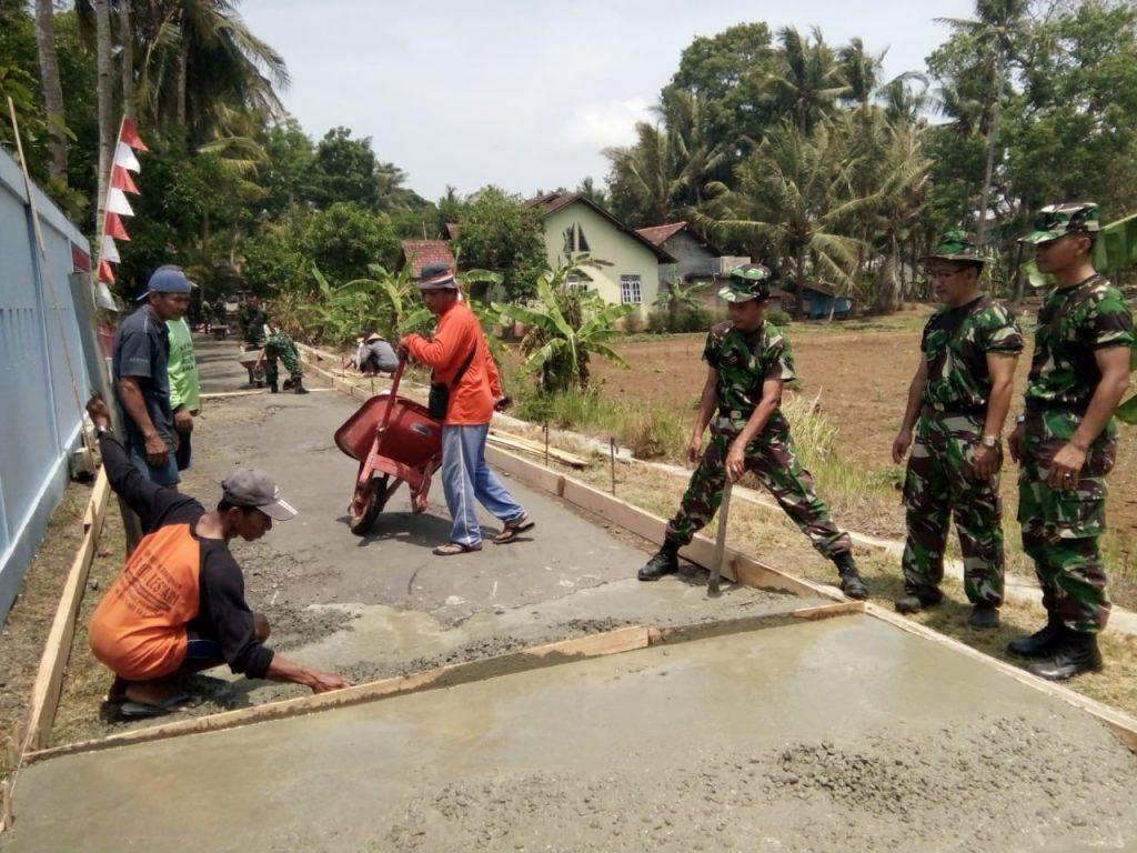 Kohanudnas Adakan Karya Bakti di Wilayah Satrad 215 Kulon Progo DIY