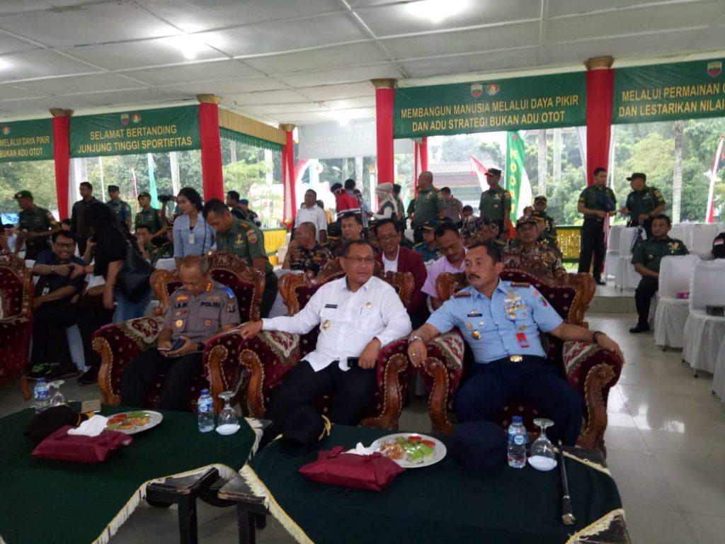 Danlanud Soewondo Hadiri Pembukaan Kejuaraan Catur Piala Pangdam I BB