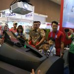 Indo Defence 2018 F-16 Cockpit Demonstrator masih Jadi Primadona Booth TNI AU