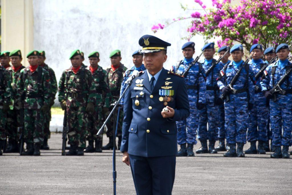 Komandan Lanud Wiriadinata Menjadi Irup Ziarah Rombongan Peringatan Hari Pahlawan Tahun 2018