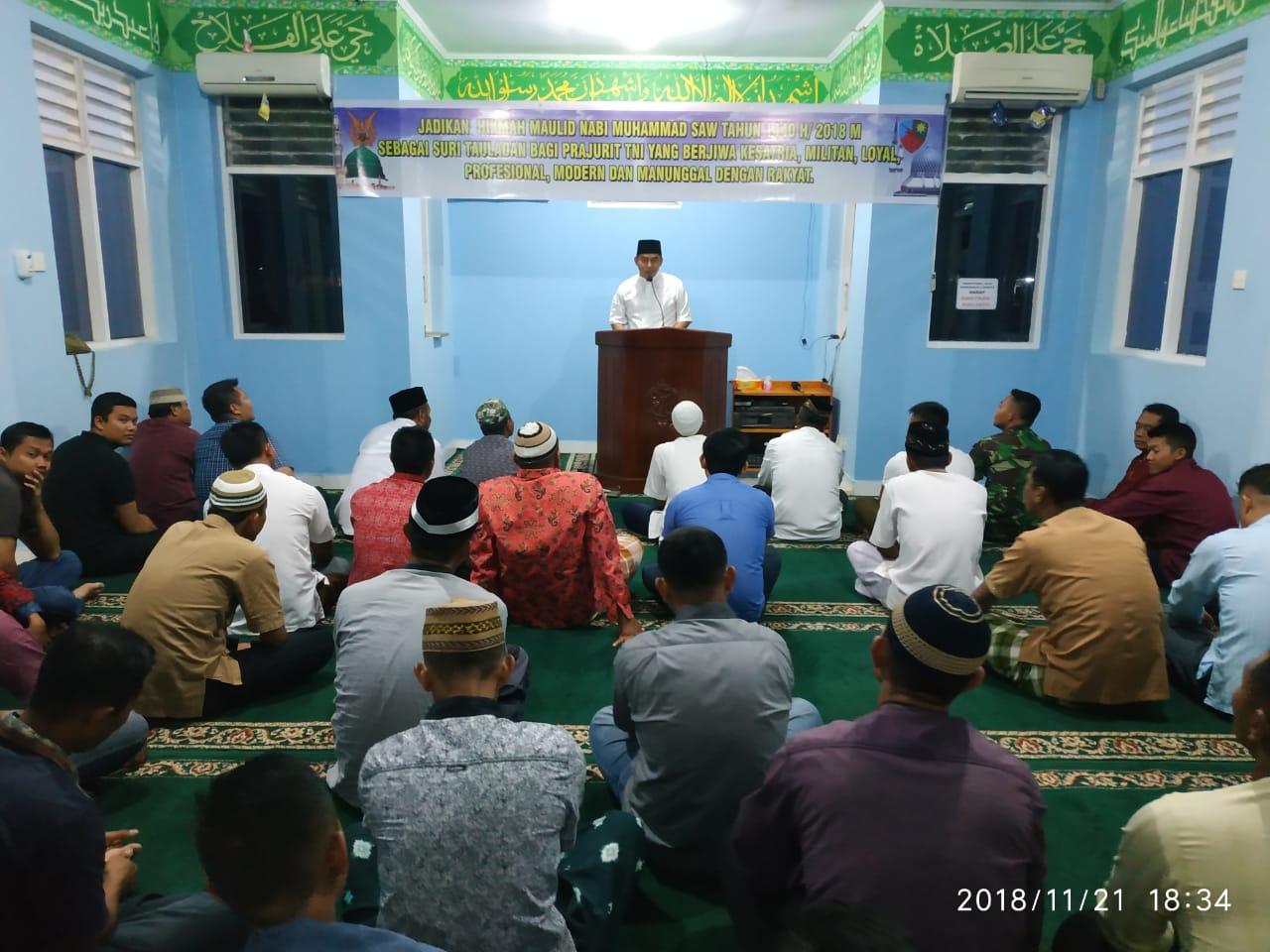 Lanud Yohanis Kapiyau Peringati Maulid Nabi Muhammad SAW 1440 H