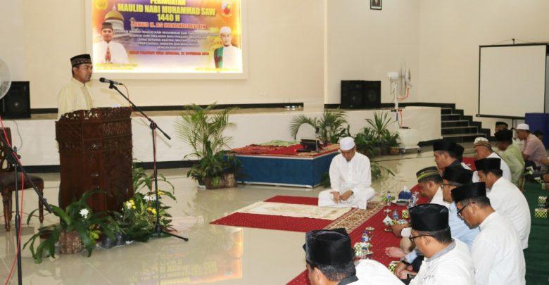 Lanud H.AS Hanandjoeddin Gelar Peringatan Maulid Nabi Muhammad SAW 1440 H/2018 M