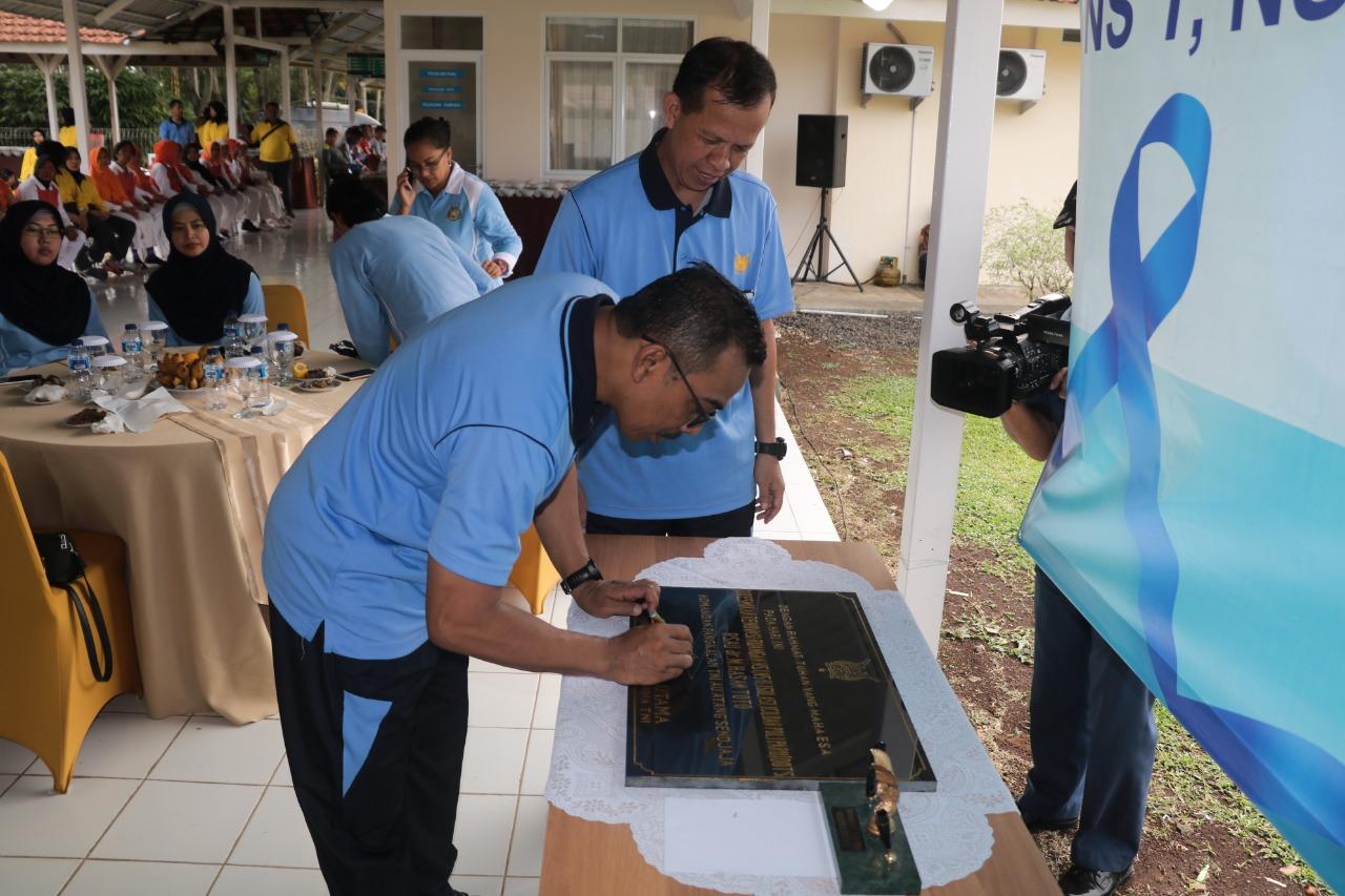 Tinfkatkan Pelayanan, RS. dr Hassan Toto Lanud Atang Sendjaja Menambah Fasilitas Ruangan