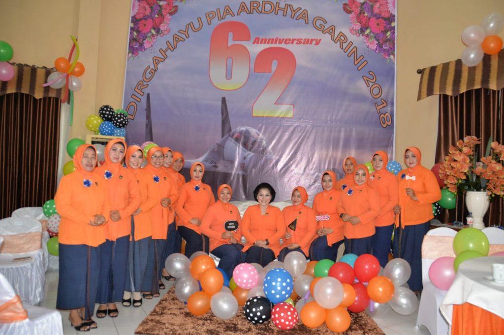 PIA AG Lanud Muljono Gelar Acara Syukuran HUT Ke- 62 PIA AG
