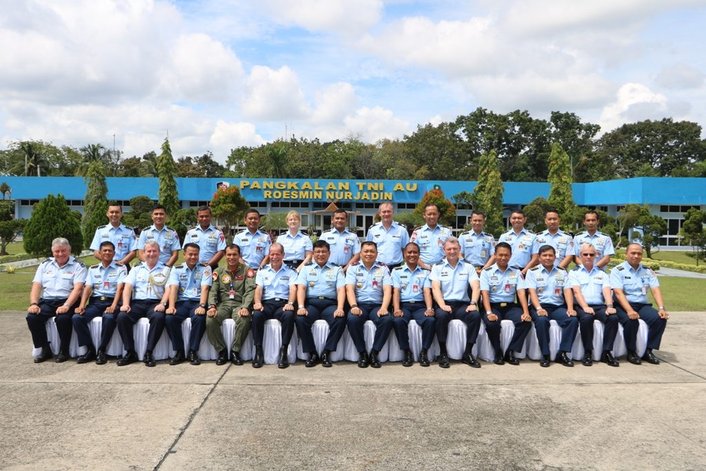 Joint Working Group RAAF dan TNI AU di Lanud Roesmin Nurjadin