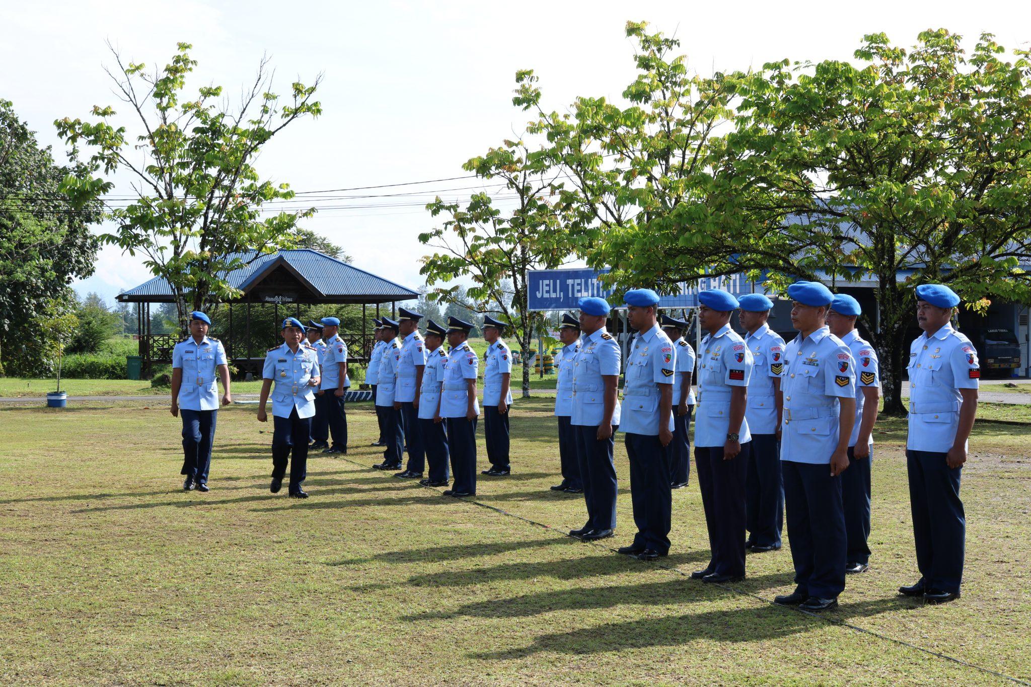 Peringatan ke-72 HUT POMAU di Lanud Y. Kapiyau Timika