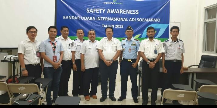 Danlanud Adi Soemarmo Hadiri Safety Awareness di Bandara Adi Soemarmo