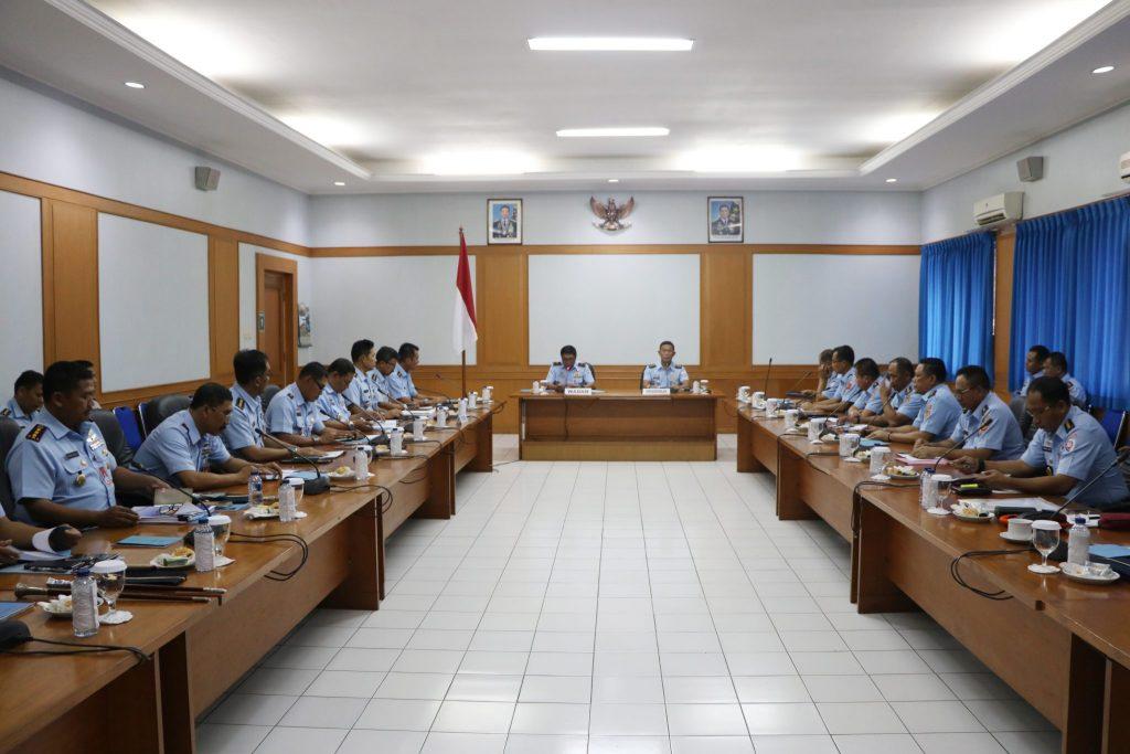 Rapat Koordinasi Harkomlek TNI AU