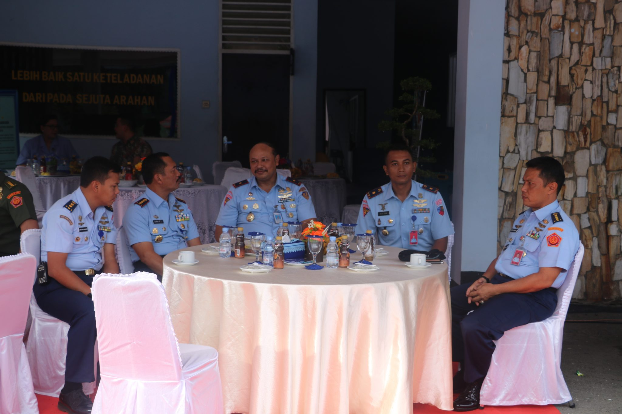 Danpuspomau Hadiri Acara Syukuran, Lomba Mancing dan Khitanan Massal di Lanud Soewondo