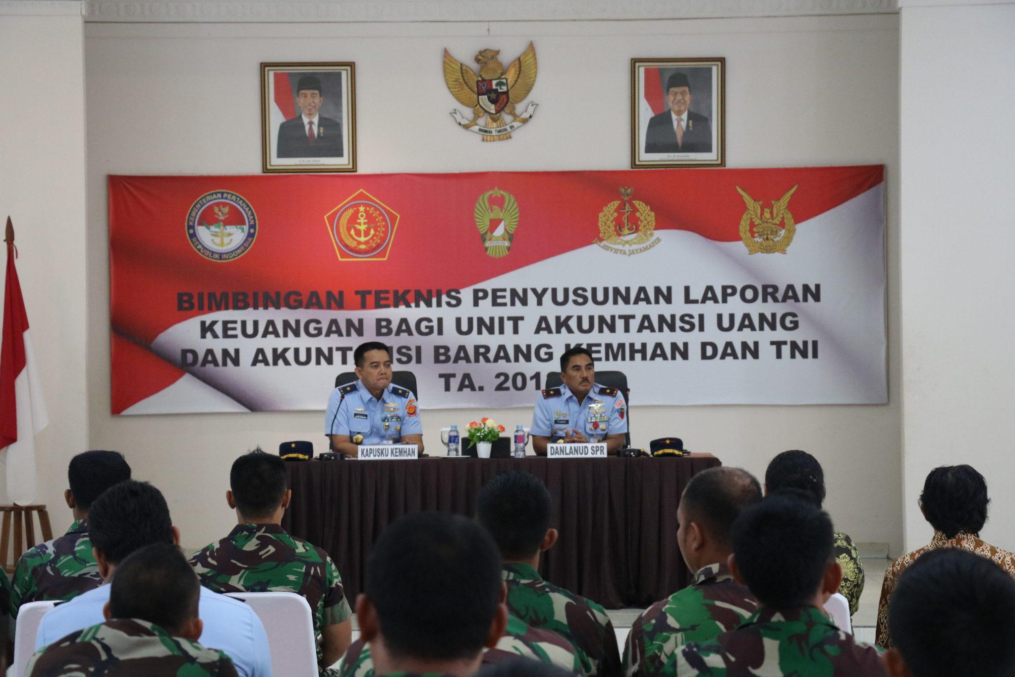 Wujudkan WTP, Operator SIMAK TNI Ikuti Bimtek Laporan Keuangan