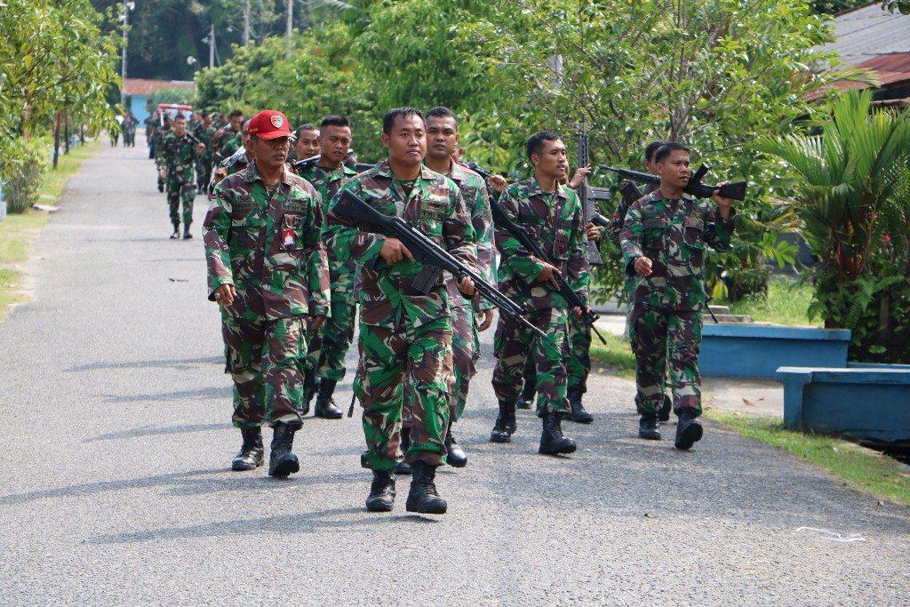 Lanud Roesmin Nurjadin Melaksanakan Minggu Militer
