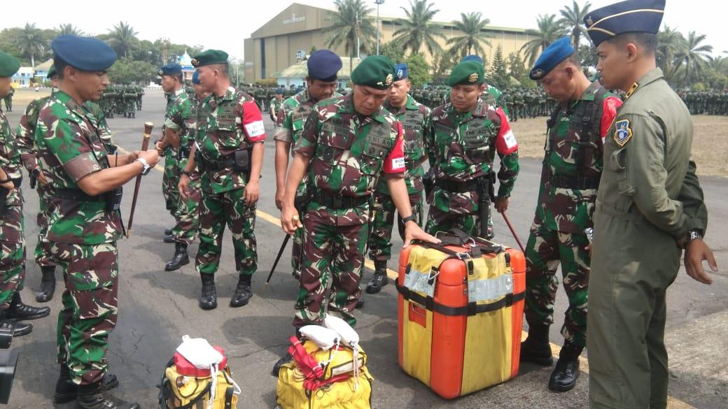 Gelar Kesiapan PPRC TNI 2018/2020 di Lanud Abd Saleh