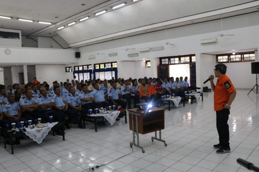 Mitigasi BPBD di Lanud Husein S. Menguji Kesiap Siagaan Tangani Bencana
