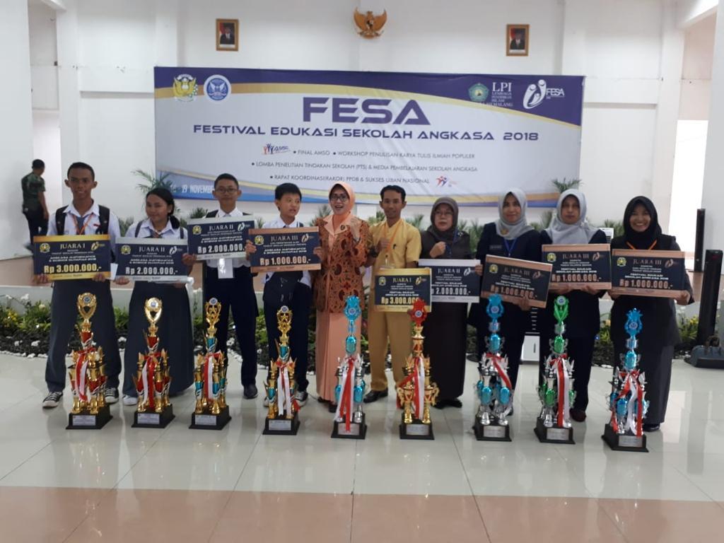 Sekolah Angkasa Lanud Husein Buktikan Prestasi di AMSO dan Fesa 2018