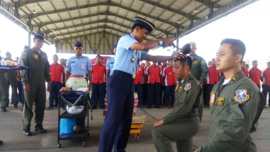 Skadron Udara 21 Wing 2 Lanud Abd Saleh Luluskan 2 Penerbang Tempur