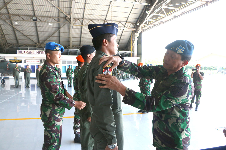 Asops Kasau Tutup Latihan Gabungan Perang Udara (MOT) dan GFAC di Lanud Iswahjudi