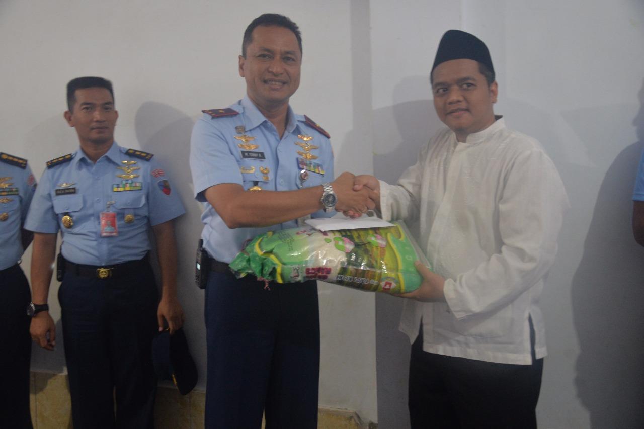 Tingkatkan Silaturahmi, Komandan Lanud Halim Perdanakusuma Kunjungi Yayasan Alfatah Mandiri