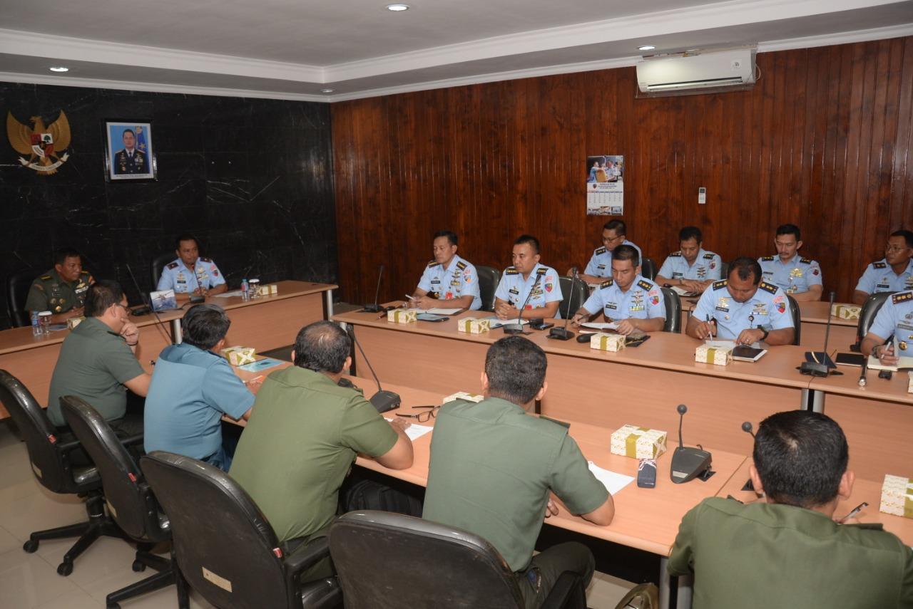 Itjen TNI Laksanakan Wasrik Tahun 2018 di Lanud Halim Perdanakusuma