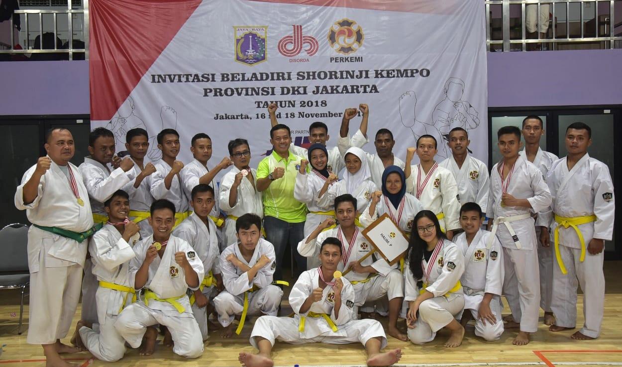 Praka Thaufik Raih Medali Emas di Invitasi Beladiri Shorinji Kempo Provinsi DKI Jakarta