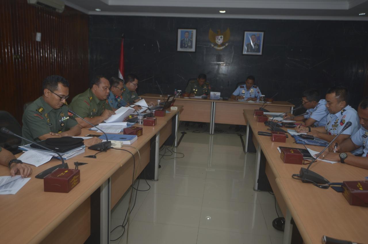 Exit Briefing Akhiri Wasrik Irjen TNI di Lanud Halim Perdanakusuma