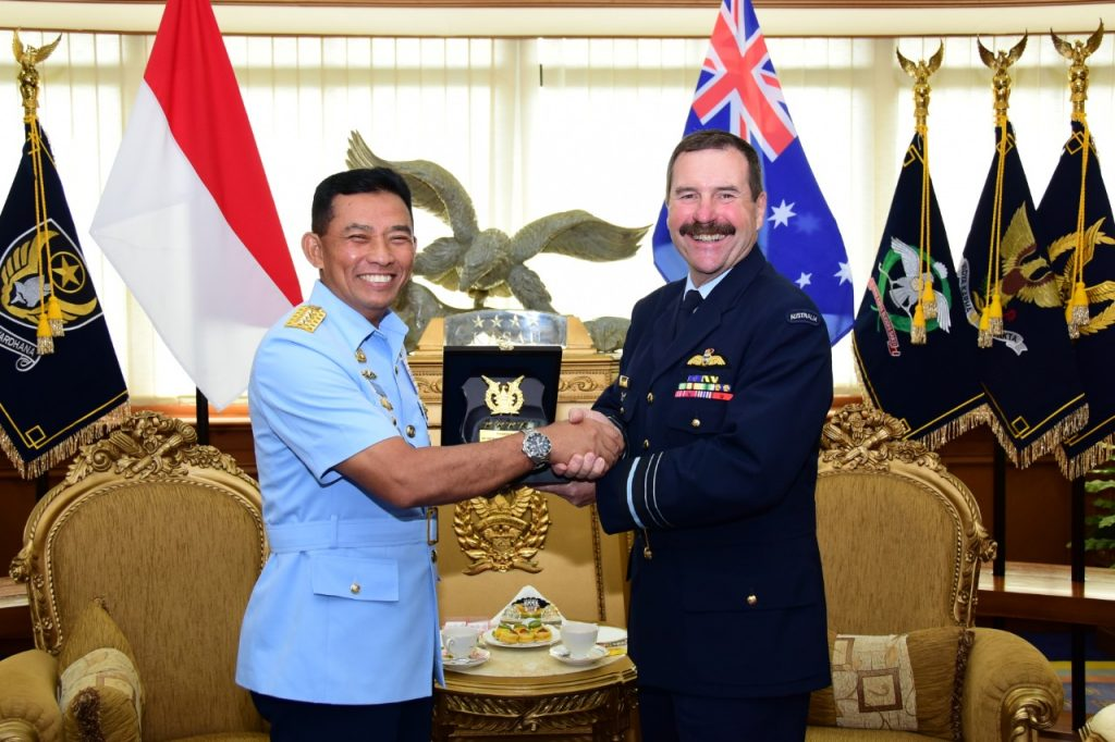 TNI AU - RAAF Sepakat Tingkatkan Kerja Sama