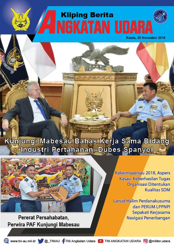 Kliping Berita Media 22 November 2018